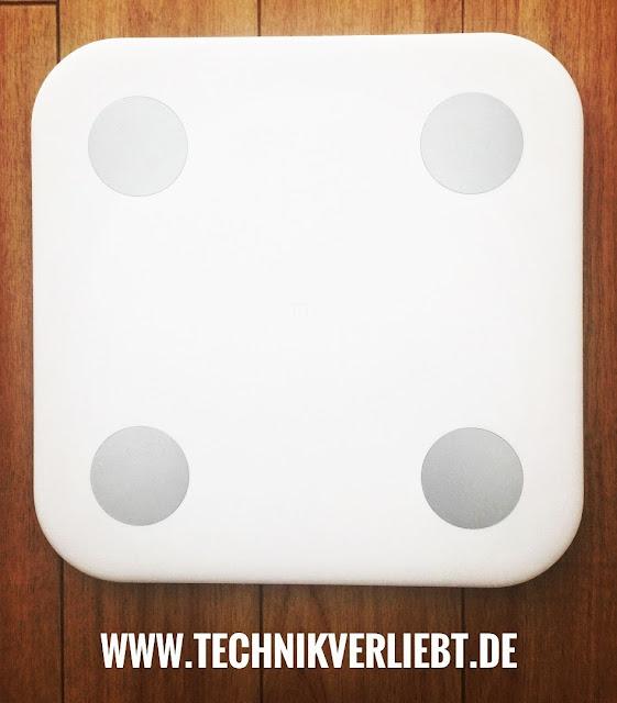 Technikverliebt - Smarthome: Xiaomi Bluetooth 4.0 Smart Weight Scale  *Meine Waage / Xiaomi Bluetooth 4.0 Smart Weight Scale @ GearBest Shop