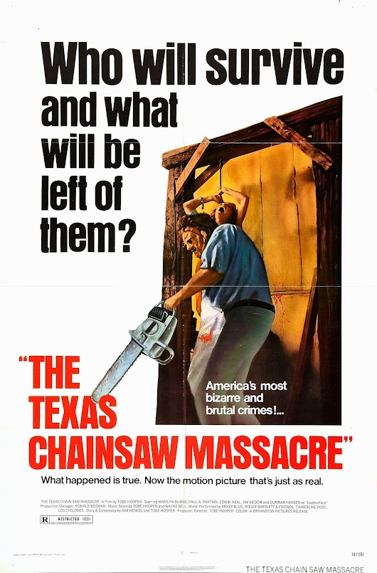 trick and treat: The Texas Chainsaw Massacre