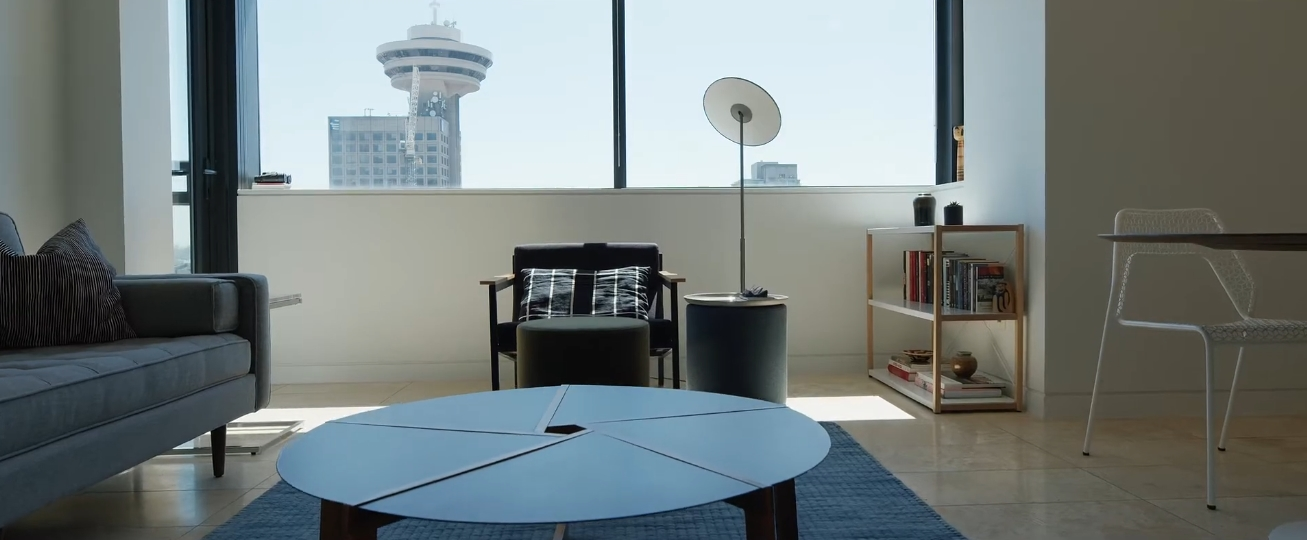 Interior Design Tour vs. Jameson House - Modern Condo For Sale - 2202 838 W Hastings Street