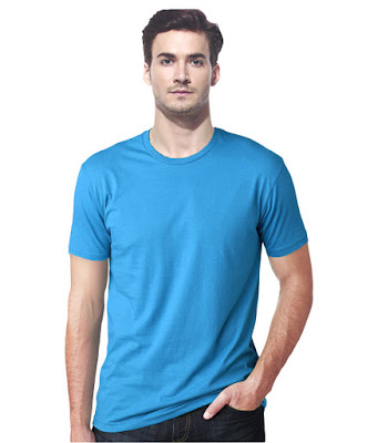 Gallop Blue Cotton T-shirt Just for 89/- Only