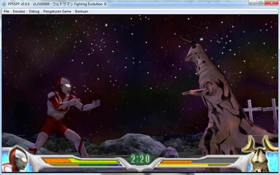 Ultraman Fighting Evolution 0 Jpn Iso Psp