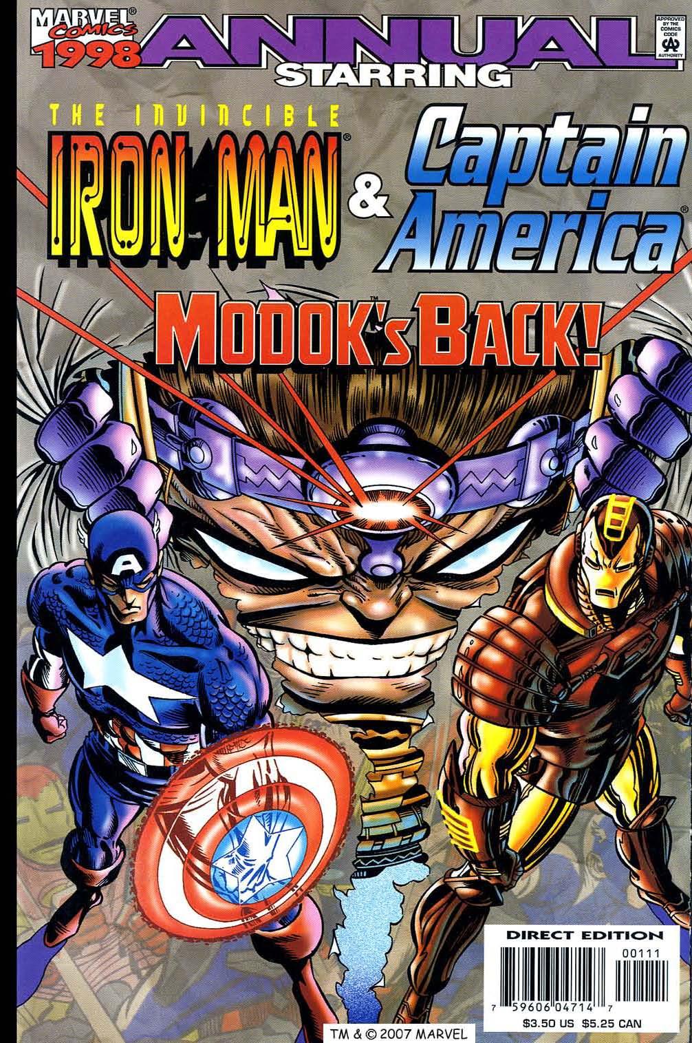 Captain America (1998) Annual_1998 Page 1