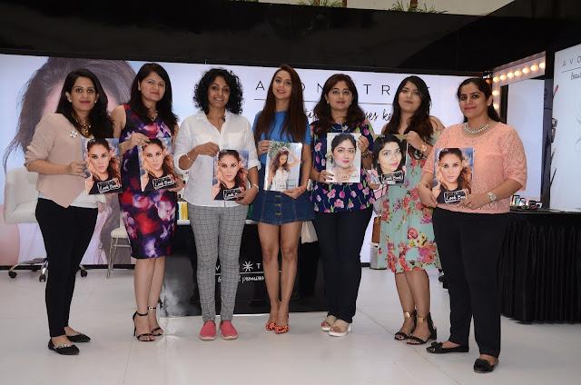 AVON India's Celebrity Makeup Artist Renuka Pillai launches AVON True Look Book