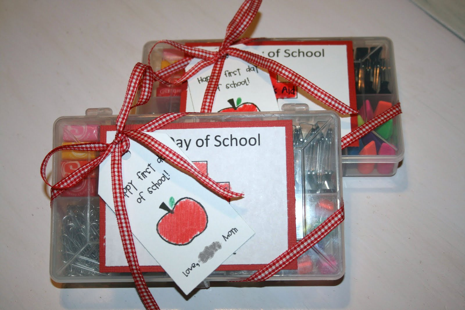 Gigi's Thimble: First Day of School