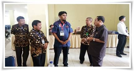 Yuswir Arifin Lihat Pelaksanaan Tes SKD - CPNS