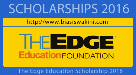 The Edge Education Foundation Scholarship 2016