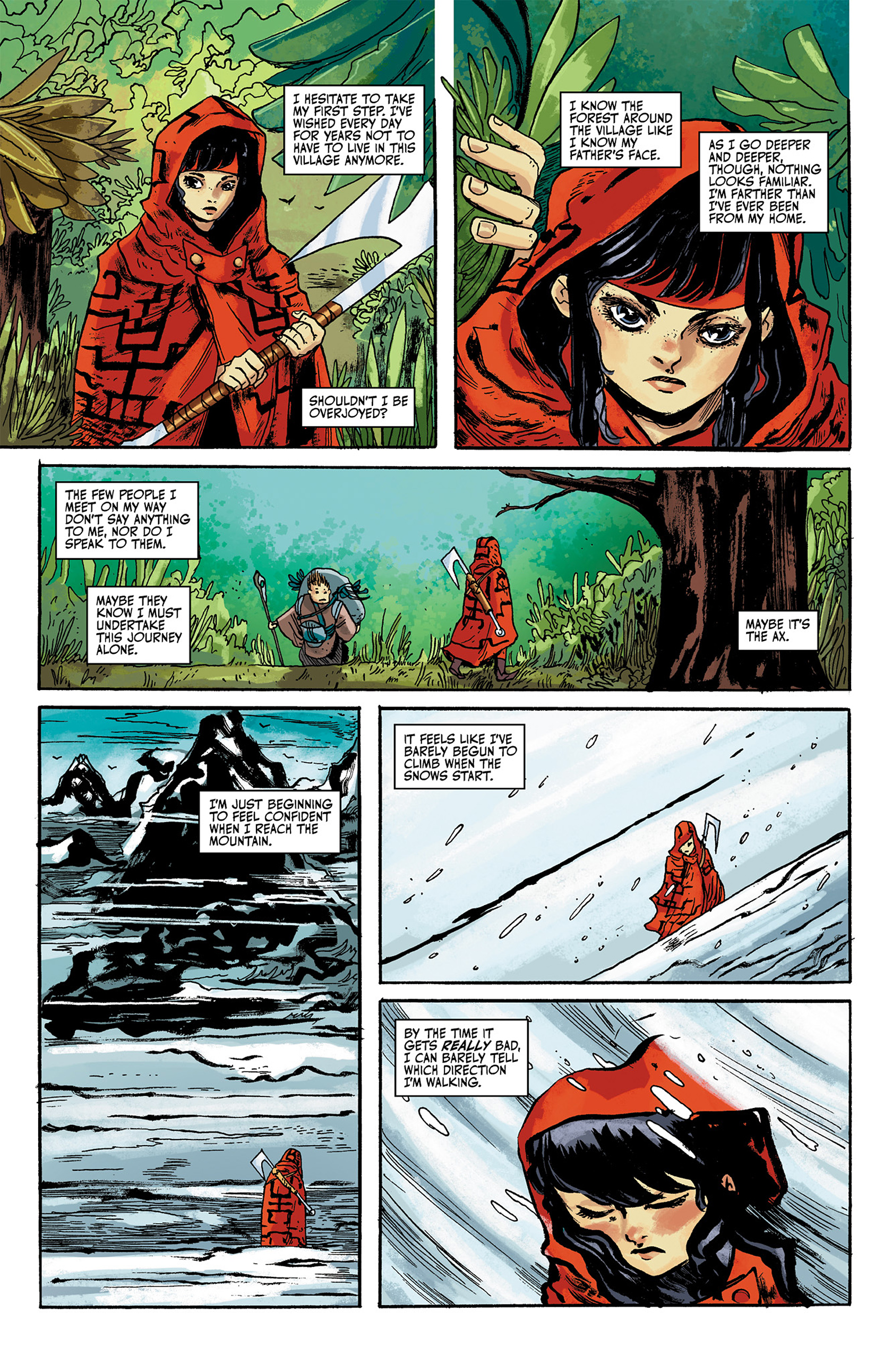 Read online Akaneiro comic -  Issue #1 - 17
