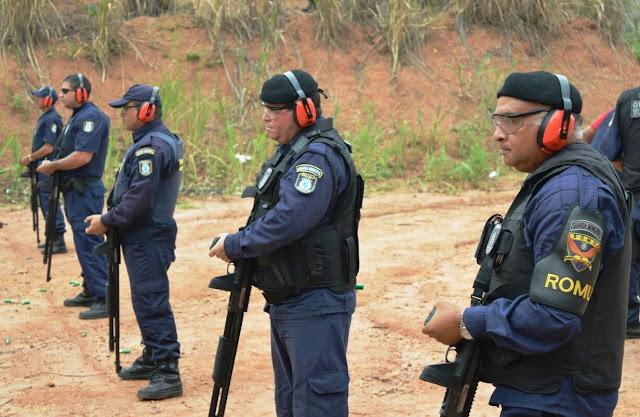 Resultado de imagem para 25 mil munições para a Guarda Municipal do Natal