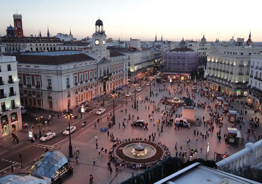 Futricando Pelo Mundo Madrid Plaza De La Puerta Del Sol