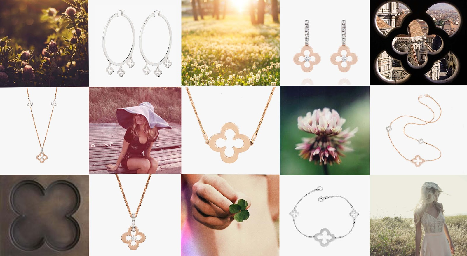 2d80f05b0 I have picked my favourite elements of this beautiful range, inspired by  the iconic quatrefoil motif representing the rare four-leaf clover.