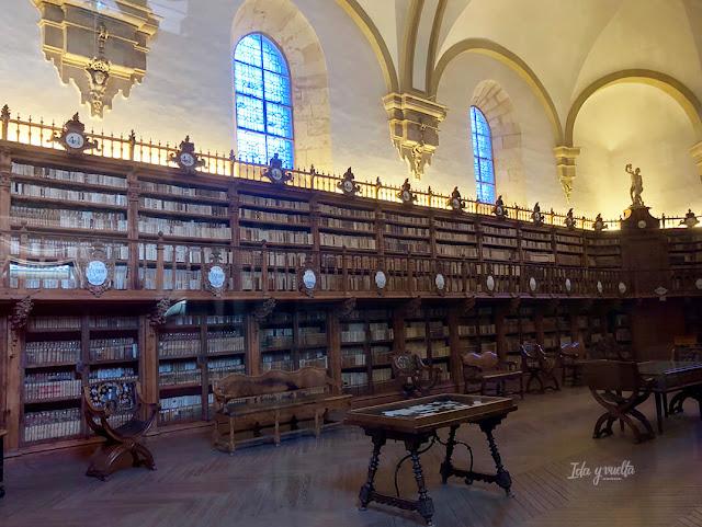 Biblioteca barroca Universidad de Salamanca