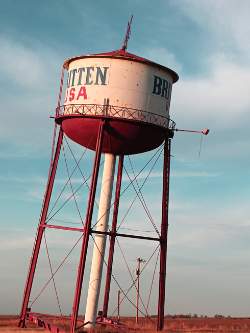 Leaning Tower of Texas Route 66