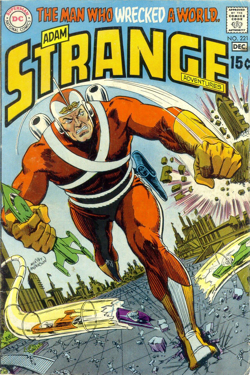 Strange Adventures (1950) issue 221 - Page 1