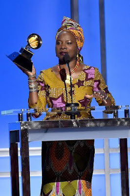 Grammy award for Angelique Kidjo 2016