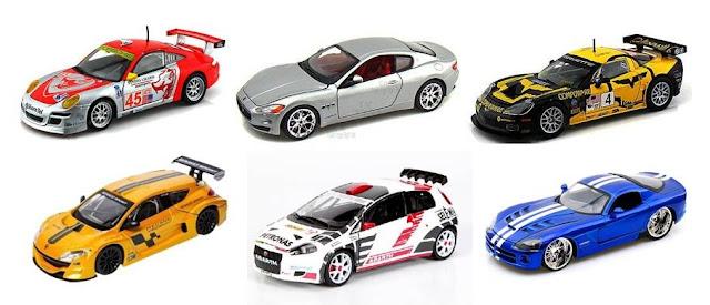 koleksi hobi diecast mobil sport rally balap miniatur balap
