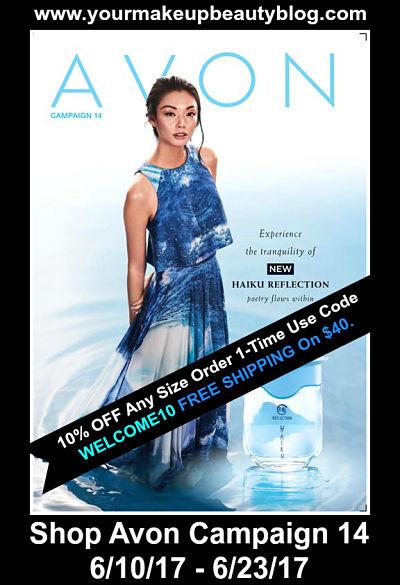 Shop Avon Campaign 14 - New Haiku Reflection | Good through 6/23/17