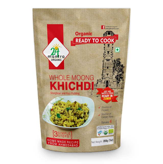 24 Mantra Organic Ready To Cook _ KHICHDI