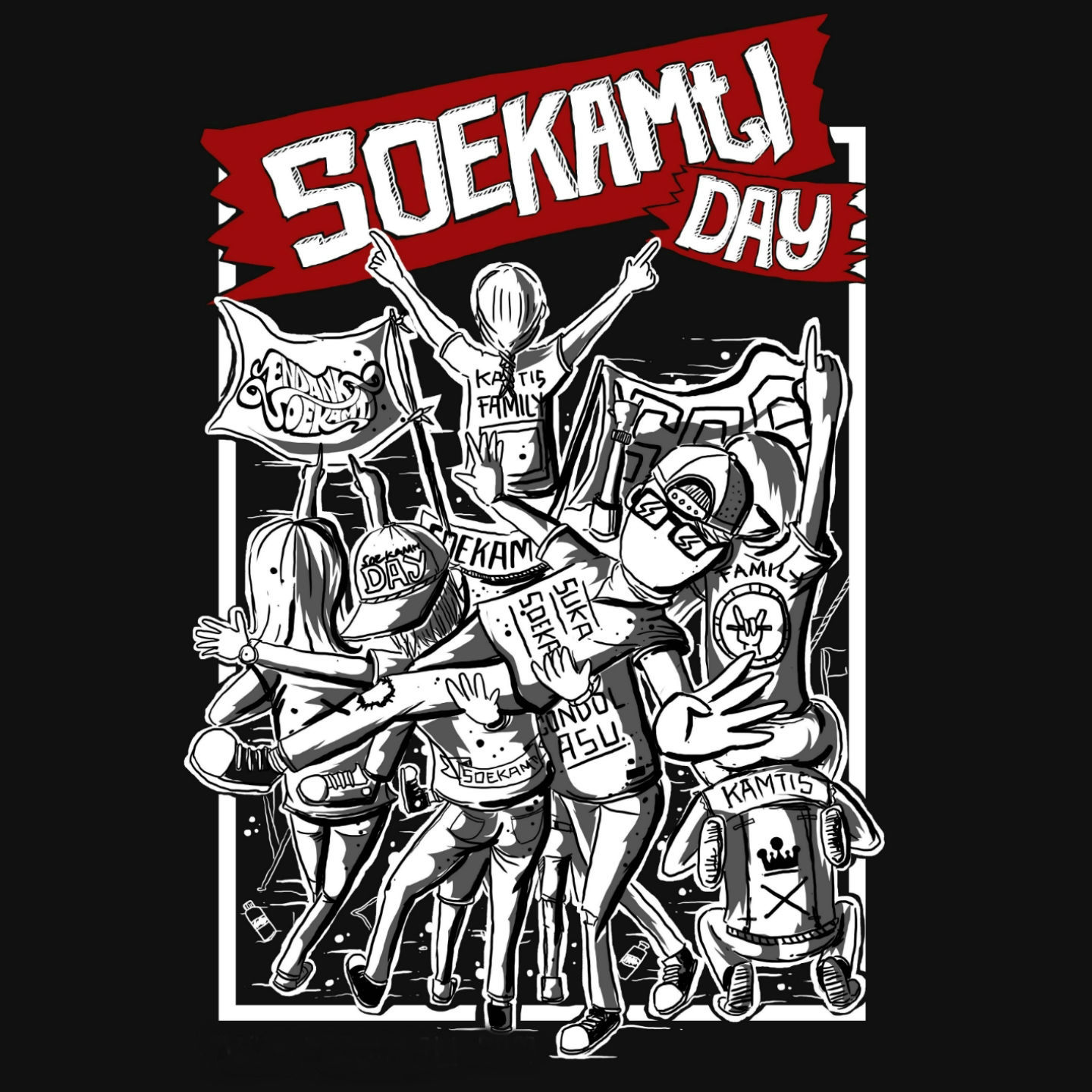 Endank Soekamti - Soekamti Day - Album (2016) [iTunes Plus AAC M4A]
