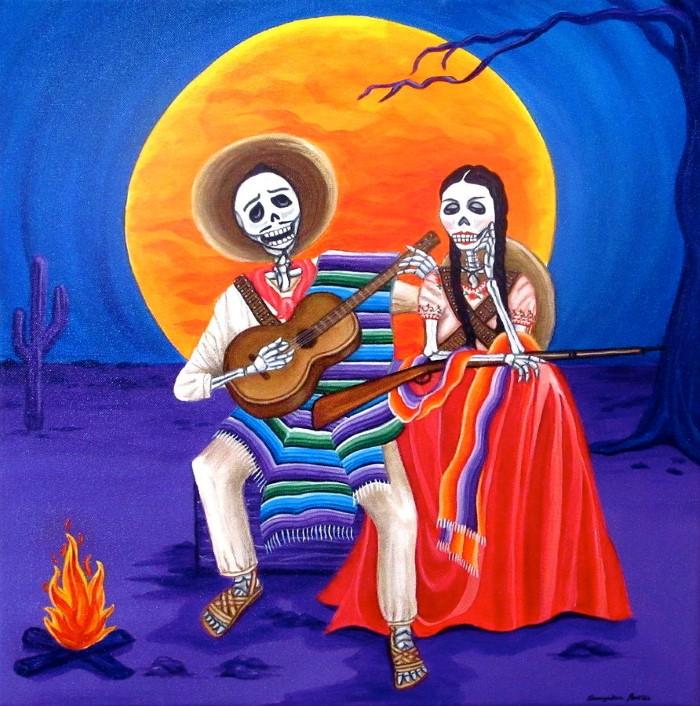 Праздник жизни по-мексикански