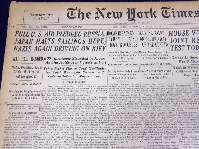 NY Times, 5 August 1941 worldwartwo.filminspector.com