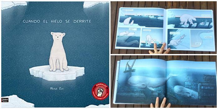 mejores cuentos libros infantiles de 5 a 8 años Cuando el hielo se derrite
