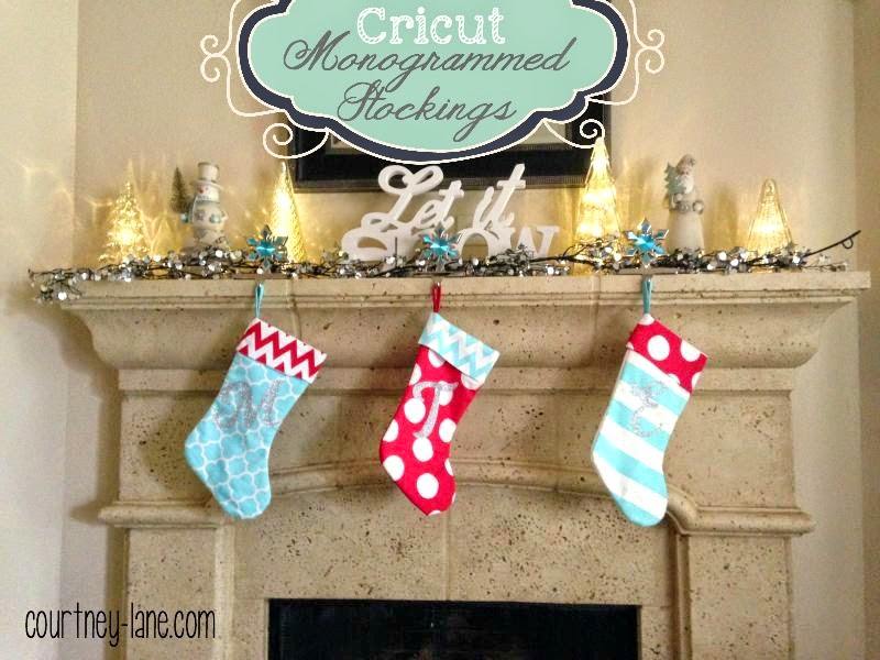 monogrammed stockings