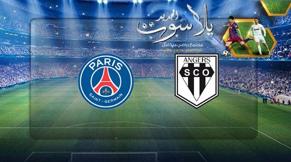 فوز باريس سان جيرمان علي انجيه بثنائية مستحقة اليوم 11-05-2019 الدوري الفرنسي