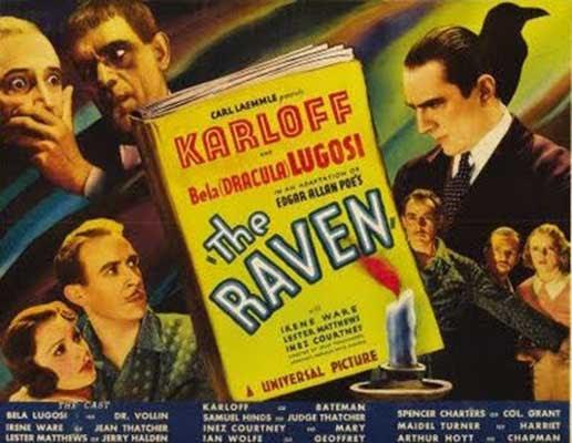 The Raven (El Cuervo), película dirigida por Lew Landers en el año 1935.