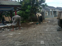 pemasangan paving block