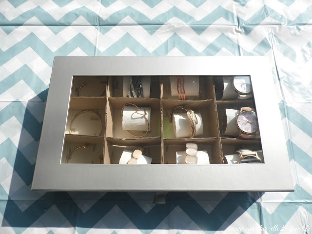 DIY boîte de rangement pour montres et bracelets
