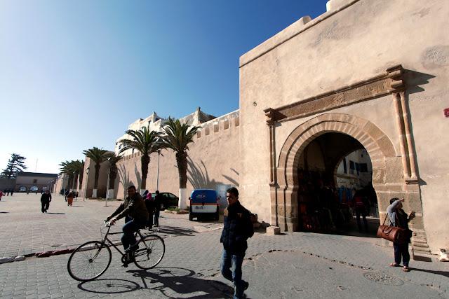 Puerta de la medina de Essaouira