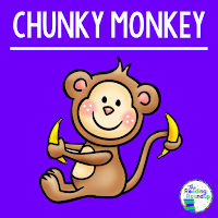 The Reading Roundup - Decoding Secret - Beanie Baby Reading Strategies - Chunky Monkey