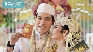 Foto Pernikahan Ricky Perdana dengan Chaca Thakya