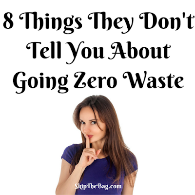 8 surprising things I found about zero waste living