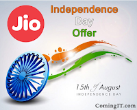 Jio Independence Day Offer, Free internet and calling for 28 days