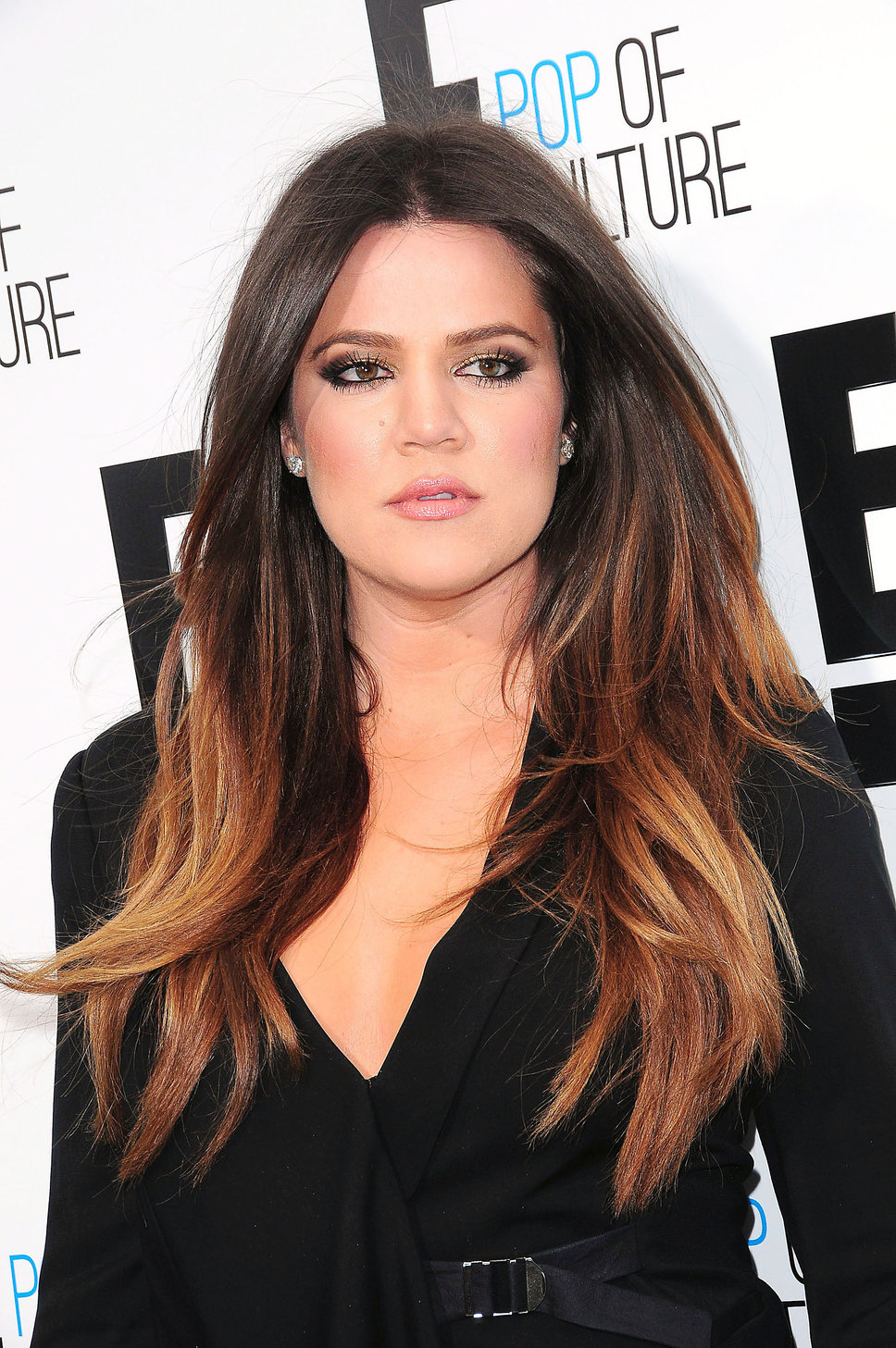 Khloe Kardashian Ombre Hair