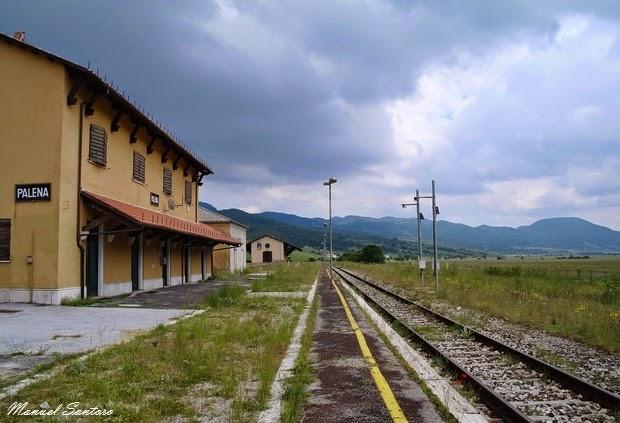 Palena, stazione