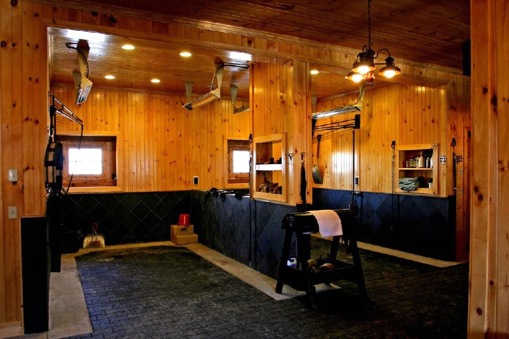 Fancy Tack Room Small House Interior Design