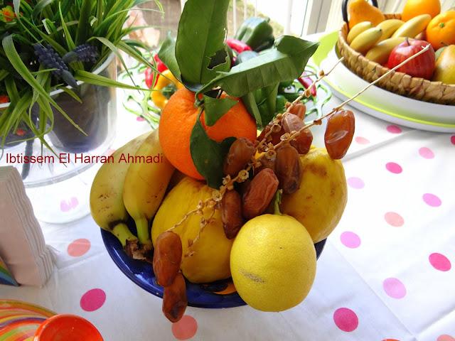 fruits corbeille