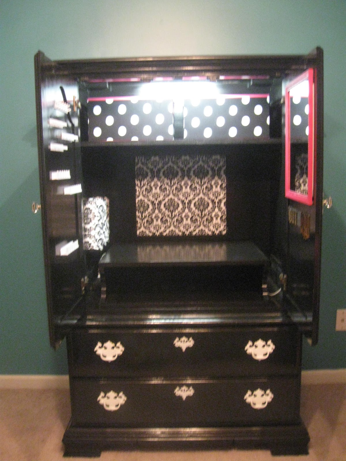 Girl Makeup Station That 39s Not Junk Refurbished Recycled Furniture A Quotgirls
