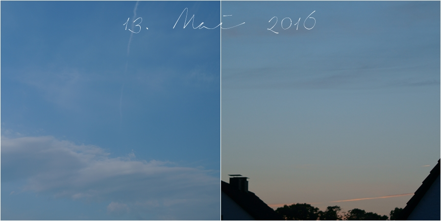 Blog + Fotografie by it's me! | fim.works | Himmel am 13. Mai 2016