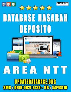 Jual Database Nasabah Deposito NTT