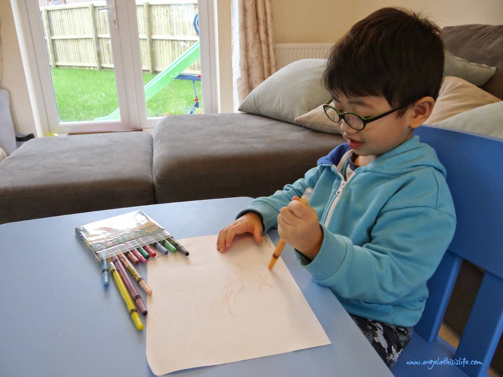 Crayola Doodles Survey, what children's doodles mean, children personality