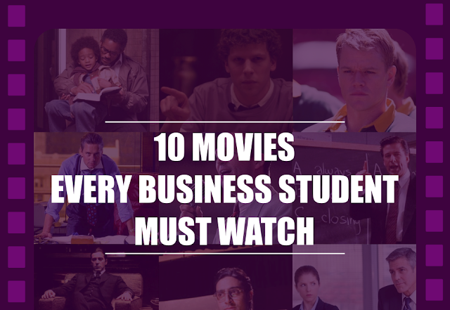 Top 10 movies every business student and business person must watch, inspirational movies, business movies, true story movies, true story based movies, top hit movies, super hit movies,