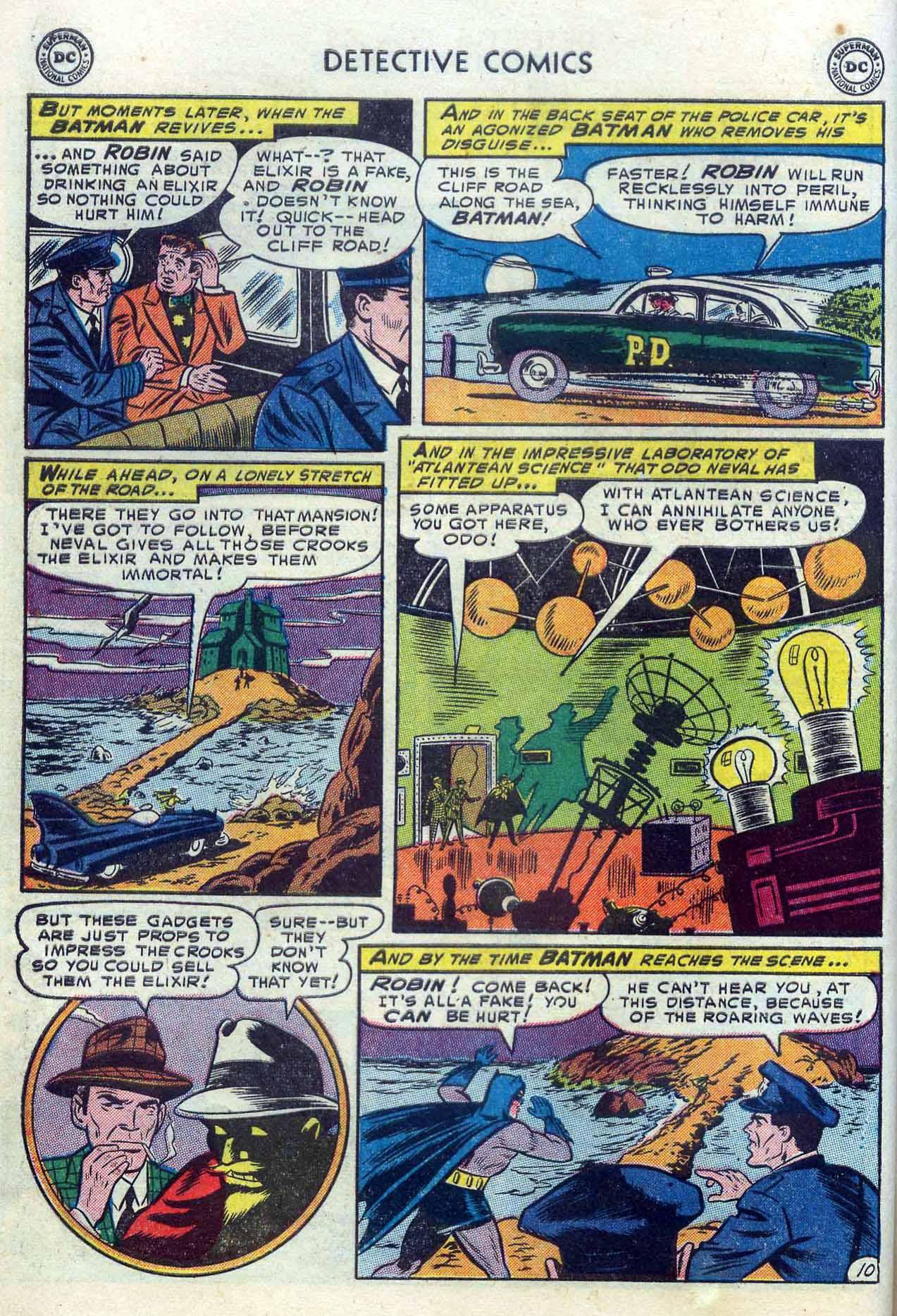 Read online Detective Comics (1937) comic -  Issue #204 - 12