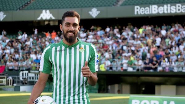 """Borja Iglesias - Betis -: """"Tengo la sensación de que en cualquier momento me voy a hinchar a meter goles"""""""