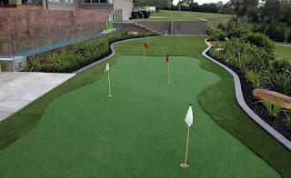 Dịch vụ thiết kế thi công sân golf mini vườn biệt thự