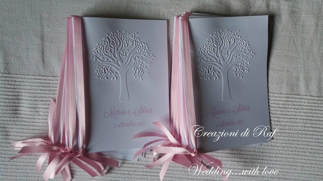 Libretto Messa Matrimonio Country Chic : Creazioni di raf wedding creations libretti messa