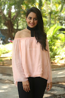 Rakul Preet Singh in lovely Pink Crop Top and Black Trousers at Jaya Janaki Nayaka success meet 065.JPG