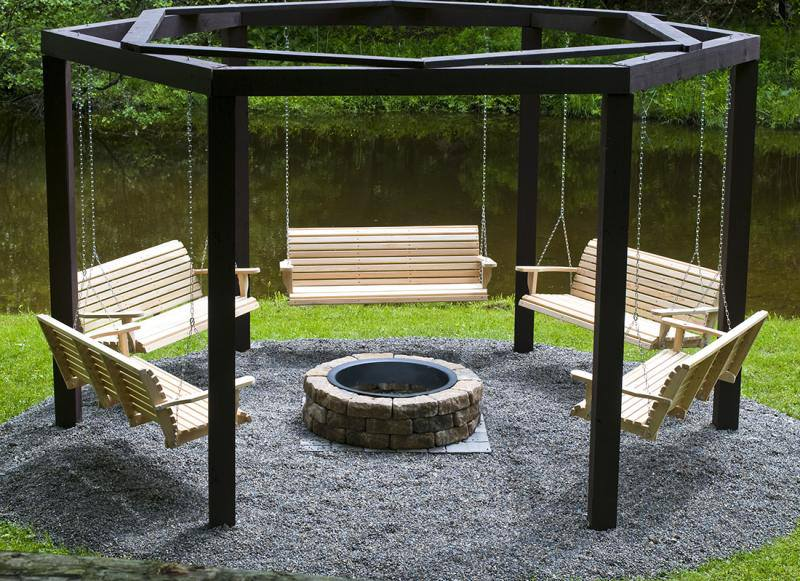 Amazing Creativity: awesome Fire Pit Seating idea